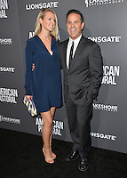 BEVERLY HILLS, CA. October 13, 2016: Raney Shockne &amp; Guest at the Los Angeles premiere of &quot;American Pastoral&quot; at The Academy's Samuel Goldwyn Theatre.<br /> Picture: Paul Smith/Featureflash/SilverHub 0208 004 5359/ 07711 972644 Editors@silverhubmedia.com