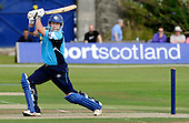 Scottish Saltires V Hampshire Royals, CB40 series, at Mannofield, Aberdeen - Scots batsman Gavin Hamilton, playing his final two matches for Scotland this weekend, epitomising Sport in Scotland hits out on his way to 19 runs - Picture by Donald MacLeod 21.06.10 - mobile 07702 319 738 - words (if required) from William Dick 077707 83923