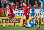 08.05.2018 Aberdeen v Rangers: Jason Holt and Kenny McLean