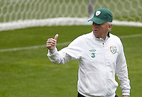 POLAND - Gdynia - 07 JUNE 2012 - Republic of Ireland Training Session at Gdynia. Ireland coach Giovanni Trapattoni.