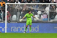 Gianluigi Buffon of Juventus <br /> Torino 1-12-2019 Juventus Stadium <br /> Football Serie A 2019/2020 <br /> Juventus FC - US Sassuolo 2-2 <br /> Photo Giuliano Marchisciano / Insidefoto