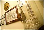 La stanza da letto di Guido Gozzano nella villa del Meleto ad Agliè