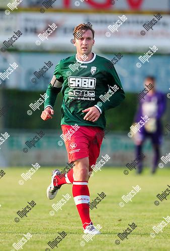 2014-07-22 / Voetbal / seizoen 2014-2015 / KFC Houtvenne / Yves Claes<br /><br />Foto: mpics.be