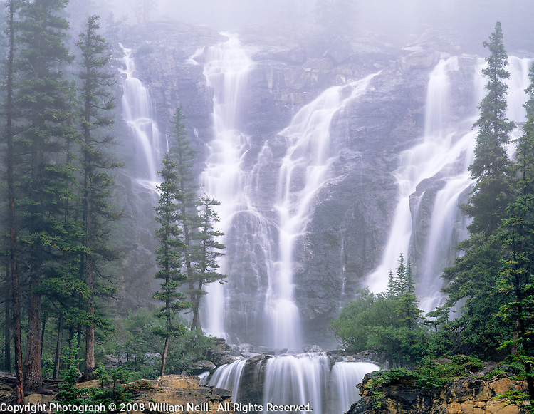 Tangle Falls Jasper National Park Alberta Canada William Neill
