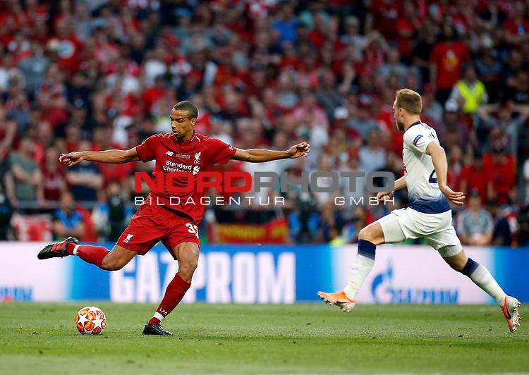 Liverpool's FC Joel Matip during UEFA Champions League match, Final Roundl between Tottenham Hotspur FC and Liverpool FC at Wanda Metropolitano Stadium in Madrid, Spain. June 01, 2019.(Foto: nordphoto / Alterphoto /Manu R.B.)