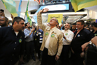SÃO PAULO, SP, 18.09.2018: ELEIÇÕES-GERALDO-ALCKMIN-SP - O candidato à presidência da República pelo PSDB, Geraldo Alckmin, visita o circuito de compras do Brás, região central de São Paulo, na tarde desta terça-feira, 18. (Foto: Fábio Vieira/FotoRua)
