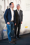 "The director of the film Salvador Calvo and the producer Enrique Cerezo during the photocall of the start filming the spanish film ""1898. Los ultimos de Filipinas"" in Madrid. May 05, 2016. (ALTERPHOTOS/BorjaB.Hojas)"