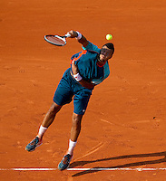 JO- WILFRED_TSONGA (FRA)..Tennis - Grand Slam - French Open- Roland Garros - Paris - Sat May 26th 2012..© AMN Images, 30, Cleveland Street, London, W1T 4JD.Tel - +44 20 7907 6387.mfrey@advantagemedianet.com.www.amnimages.photoshelter.com.www.advantagemedianet.com.www.tennishead.net