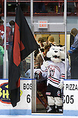 - The Northeastern University Huskies defeated the visiting Boston College Eagles 2-1 on Saturday, February 19, 2011, at Matthews Arena in Boston, Massachusetts.