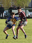 Oliver Plunketts Ricky Bateson Kilkerley Ewan McEnteggart. Photo:Colin Bell/pressphotos.ie