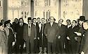 Syrie 1958.Le president syrien avec Omar Shemdin et des personnalites kurdes.Syria 1958.The Syrian president with Omar Shemdin and Kurdish personalities