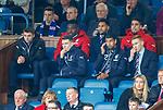 22.04.2018 Rangers v Hearts: Jordan Rossiter, Ryan Jack, Wes Foderingham, Eduardo Herrera, Fabio Cardoso and David Bates