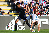June 19th 2017, Kielce, Poland; UEFA European U-21 football championships, England versus Slovakia; Nathaniel Chalobah (ENG) stronger than Jaroslav Mihalik (SLO) and takes control of the ball
