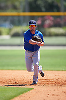 Toronto Blue Jays Aaron Attaway (59) during a minor league Spring Training game against the New York Yankees on March 22, 2016 at Englebert Complex in Dunedin, Florida.  (Mike Janes/Four Seam Images)