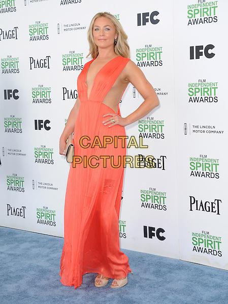Elisabeth Rohm attends The 2014 Film Independent Spirit Awards held at Santa Monica Beach in Santa Monica, California on March 01,2014                                                                                <br /> CAP/DVS<br /> &copy;Debbie VanStory/Capital Pictures