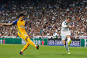 13th September 2017, Santiago Bernabeu, Madrid, Spain; UCL Champions League football, Real Madrid versus Apoel; Gareth Bale (11) Real Madrid with a shot on goal