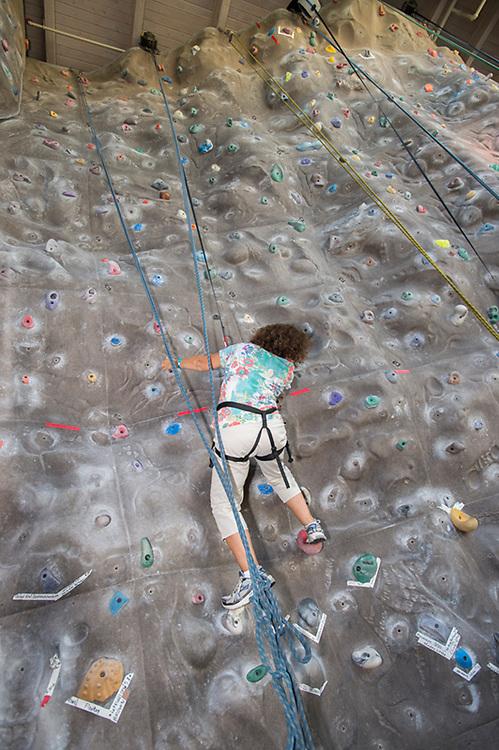 Recreation, Climbing Wall, Rec Cen