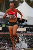 Lindsey Anderson finished 2nd. in the 3000m Steeplechase in a time of 9:37.88 at the Adidas Track Classic 2009 held at the Home Depot Center on Saturday, May 16, 2009. Photo by Errol Anderson, The Sporting Image.net