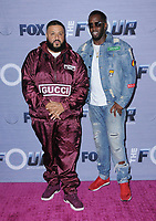 "08 February 2018 - West Hollywood, California - DJ Khaled, Sean ""Diddy"" Combs. The Four: Battle For Stardom season finale viewing party held at Delilah. Photo Credit: Birdie Thompson/AdMedia"