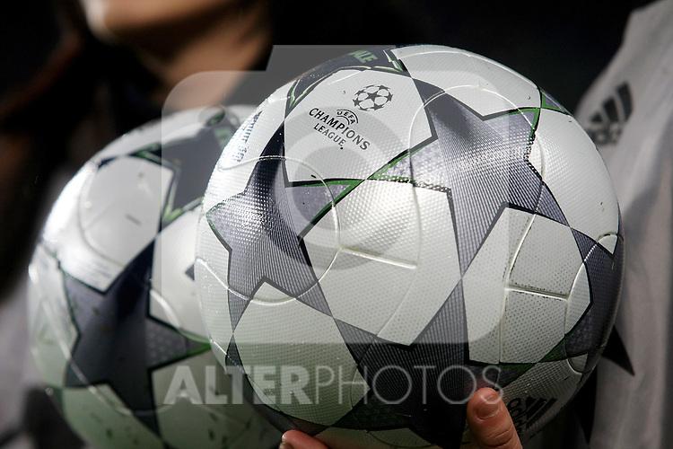 UEFA Champiosn League's official ball.April 8 2009. (ALTERPHOTOS/Acero).
