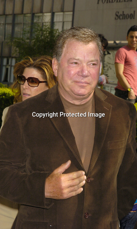 William Shatner ..at The ABC Upfront Announcement of Their Fall Schedule on May 17, 2005 at Lincoln Center...Photo by Robin Platzer, Twin Images