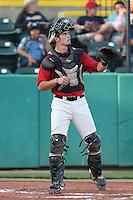 Ronnie Freeman #8 of the Visalia Rawhide during a game against the Stockton Ports at Rawhide Ballpark on May 5, 2014 in Visalia California. Visalia defeated Stockton, 8-6. (Larry Goren/Four Seam Images)