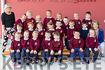 Junior Infants First Day at Scoil Iosagain, BALLYBUNION Pictured Michelle Ahern, Daisy Bennett, Jake Bennett, Allan Bielecka-Stepien, Jake Blake, Laven Butler, Lewis Butler Mulvihill, Finn Byrne, Noah Connolly, Cathal Dowling-Ryan, Anthony Doyle, Cian Fitzgerald, Zuzanna Gorska, Eilish Horgan, Darragh Julian, Faye Kennelly, Seamus McAuliffe, Kayleigh Parrish Harty, Tallulah Scratchley O'Connor, Aidan Spillane, Leonard Stan, Abaigeal Weadick