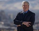 Author Dr. Shane Templeton at University Ridge Park in Reno, Nev., Thursday, December 21, 2017. (AP Photo/Tom R. Smedes)