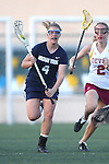 Santa Barbara, CA 02/18/12 - Shelly Smith (BYU #4) and Shelby Griffin (Arizona State #2) in action during the Arizona State vs BYU matchup at the 2012 Santa Barbara Shootout.  BYU defeated Arizona State 10-8.