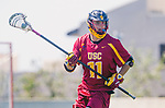 Los Angeles, CA 04/01/16 - Peter Hollen (USC #11) in action during the University of Southern California and Loyola Marymount University SLC conference game  USC defeated LMU.