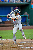 Cassidy Brown (39) of the Billings Mustangs at bat against the Ogden Raptors in Pioneer League action at Lindquist Field on August 12, 2016 in Ogden, Utah. Billings defeated Ogden 7-6. (Stephen Smith/Four Seam Images)
