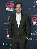 17 November 2019 - Los Angeles, California - Armie Hammer. Go Campaign's 13th Annual Go Gala held at NeueHouse Hollywood. Photo Credit: PMA/AdMedia
