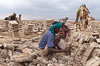 salt diggers in Dallol Ethiopa