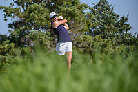 Alison Walshe (USA) watches her tee shot on 3 during round 2 of  the Volunteers of America LPGA Texas Classic, at the Old American Golf Club in The Colony, Texas, USA. 5/6/2018.<br /> Picture: Golffile | Ken Murray<br /> <br /> <br /> All photo usage must carry mandatory copyright credit (&copy; Golffile | Ken Murray)