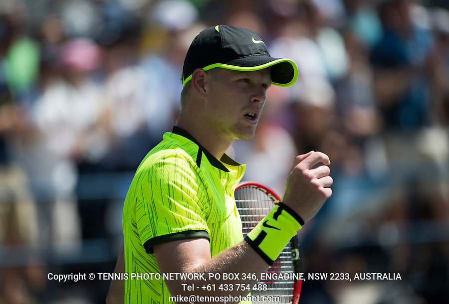 KYLE EDMUND (GBR)<br /> <br /> TENNIS - THE US OPEN - FLUSHING MEADOWS - NEW YORK - ATP - WTA - ITF - GRAND SLAM - OPEN - NEW YORK - USA - 2016  <br /> <br /> <br /> <br /> &copy; TENNIS PHOTO NETWORK
