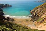 La Grande Greve beach, Island of Sark, Channel Islands, Great Britain