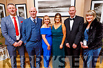 Benny Murphy, Martin and Maura O'Connor, Clare Murphy, Jimmy and Helen Rogers attending the Scoil Eoin Valentine's Ball Fundraiser in the Ballygarry House Hotel on Friday night.