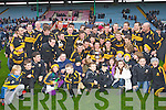 Dr. Crokes players celebrate defeating Castlehaven in the Munster Senior Club Final at Pairc Ui Caoimh on Sunday
