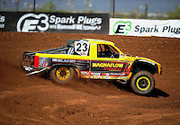 Apr 15, 2011; Surprise, AZ USA; LOORRS driver Jerry Daugherty during round 3 and 4 at Speedworld Off Road Park. Mandatory Credit: Mark J. Rebilas-.