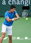 Novak Djokovic (SRB) wins BNP Parisbas Open against Roger Federer (SUI) 63 67(5) 62