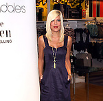 Tori Spelling promotes Little Maven at Bloomingdale's