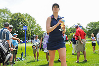 Sandra Gal (DEU) makes her way to the 11th tee during Thursday's round 1 of the 2017 KPMG Women's PGA Championship, at Olympia Fields Country Club, Olympia Fields, Illinois. 6/29/2017.<br /> Picture: Golffile | Ken Murray<br /> <br /> <br /> All photo usage must carry mandatory copyright credit (&copy; Golffile | Ken Murray)