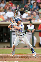 South Bend Cubs third baseman Jesse Hodges (25) during a game against the Dayton Dragons on May 11, 2016 at Fifth Third Field in Dayton, Ohio.  South Bend defeated Dayton 2-0.  (Mike Janes/Four Seam Images)