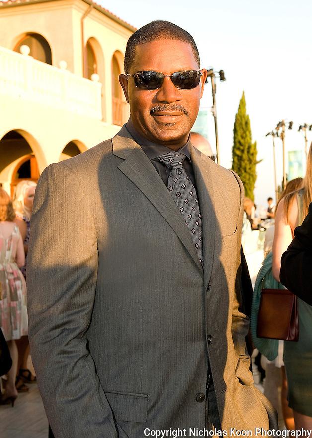 Actor Dennis Haysbert at an Oceana fundraiser in Laguna Beach on 7/29/12.....