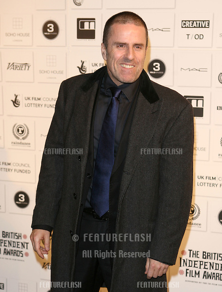 Con O'Neill arriving at the Independent Film Awards 2009, at The Brewery, London. 06/12/2009  Picture By: Alexandra Glen / Featureflash