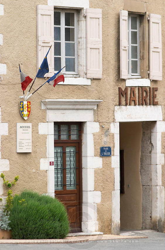 town hall cornas rhone france