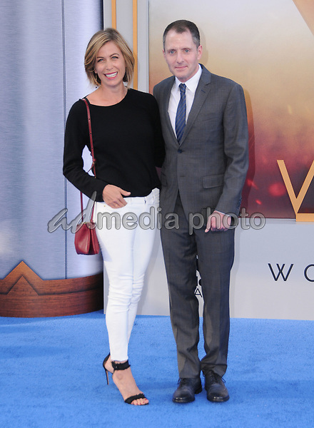 "25 May 2017 - Hollywood, California - Sonya Walger. World  Premiere of Warner Bros. Pictures'  ""Wonder Woman"" held at The Pantages Theater in Hollywood. Photo Credit: Birdie Thompson/AdMedia"