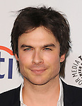 "Ian Somerhalder at the 2014 PaleyFest ""Lost"" held at The Dolby Theatre in Los Angeles on March 16, 2014."