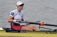 Sarasota. Florida USA.  USA W2-. Bow. Megan KALMO Final A at the . 2017 World Rowing Championships, Nathan Benderson Park<br /> <br /> Saturday  30.09.17   <br /> <br /> [Mandatory Credit. Peter SPURRIER/Intersport Images].<br /> <br /> <br /> NIKON CORPORATION -  NIKON D500  lens  VR 500mm f/4G IF-ED mm. 250 ISO 1/800/sec. f 7.1