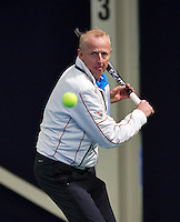 Hilversum, The Netherlands, March 10, 2016,  Tulip Tennis Center, NOVK, Martin Koek (NED)<br /> Photo: Tennisimages/Henk Koster